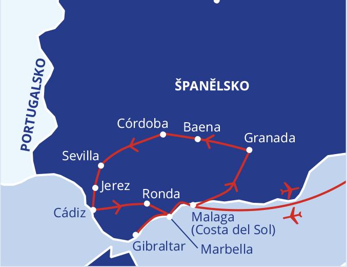 Krásy jižního Španělska (putování Andalusií) #2