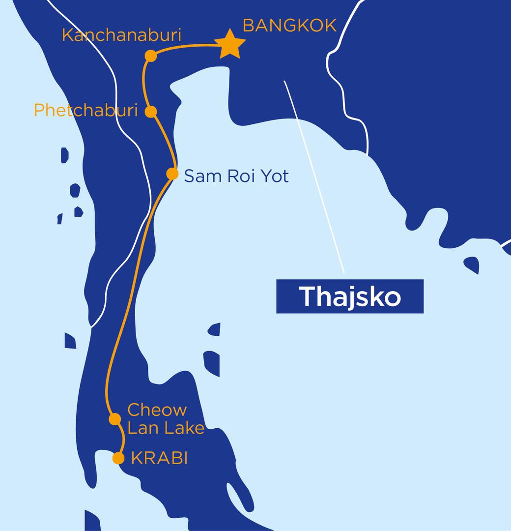 Za nejkrásnějšími památkami a plážemi Thajska #2