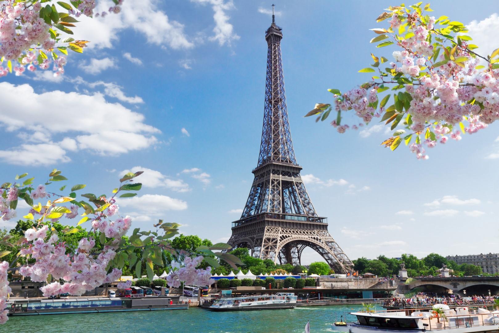 Pařížské předjaří letecky