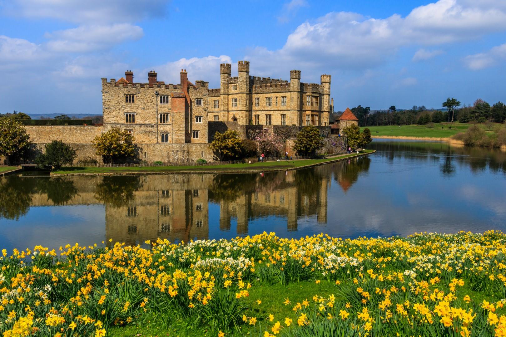 Romantickým pobřežím za nejkrásnějšími hrady jižní Anglie #6