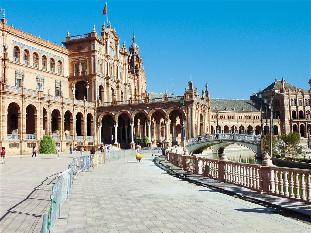 Velký okruh po španělském království letadlem