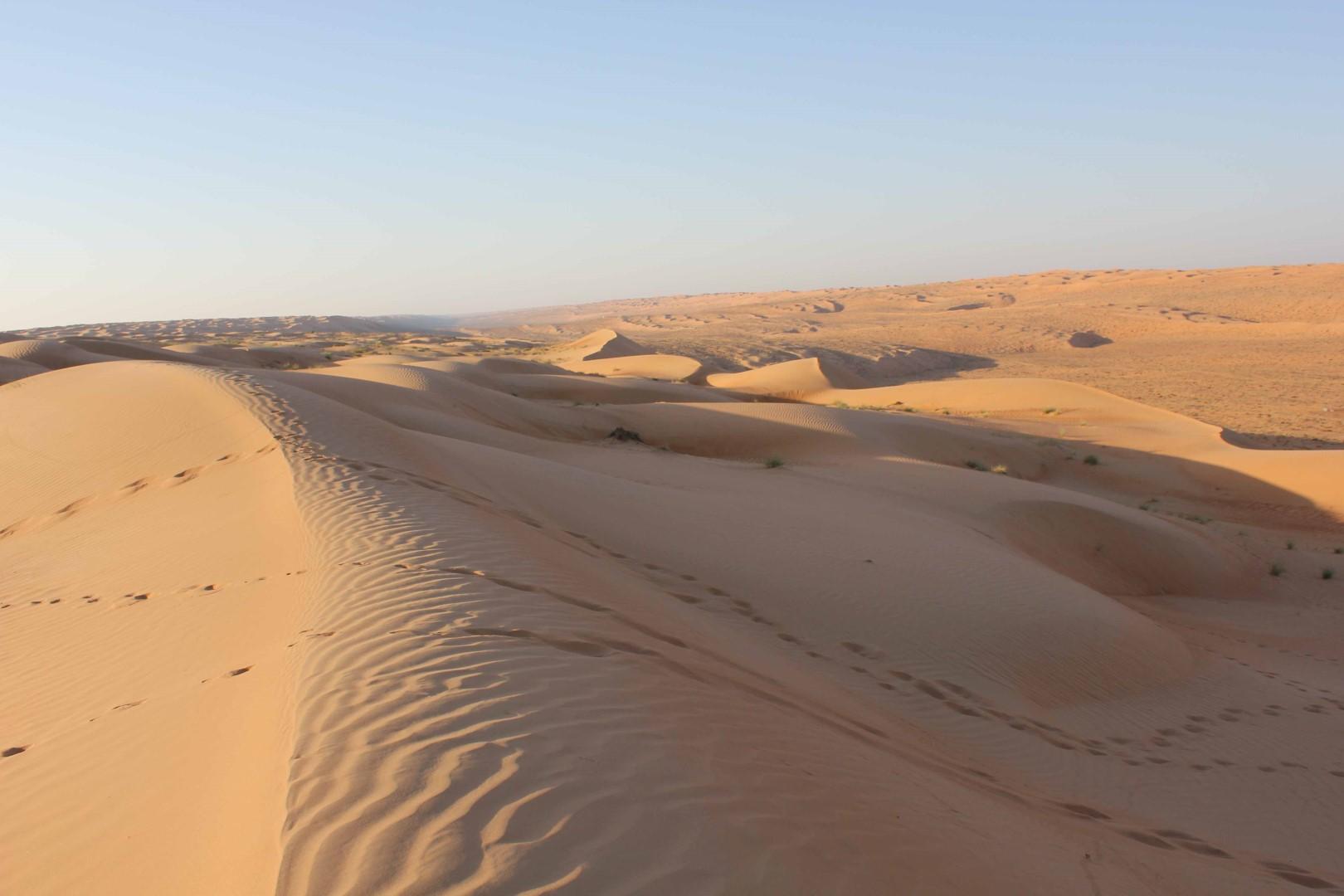 Pouští a oázami za krásami Ománu #3