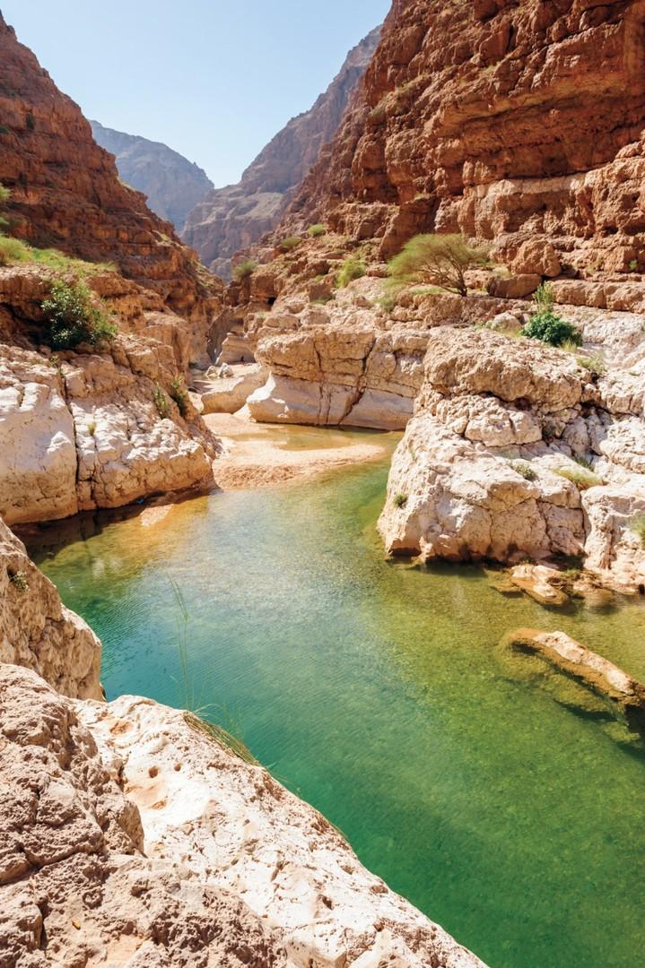 Pouští a oázami za krásami Ománu #4