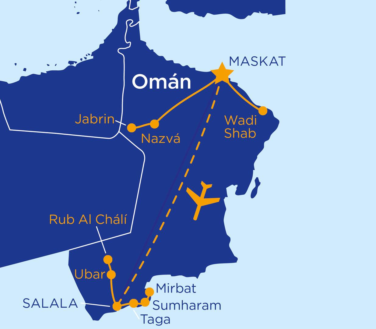 To nejlepší z Ománu s pobytem u moře #2
