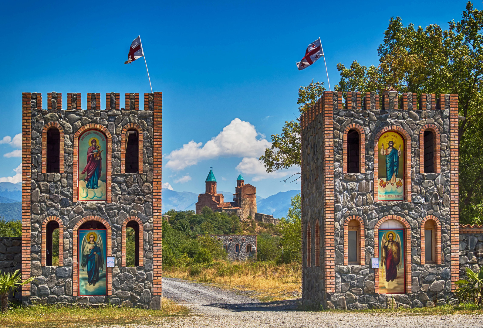 Nejkrásnější místa Gruzie
