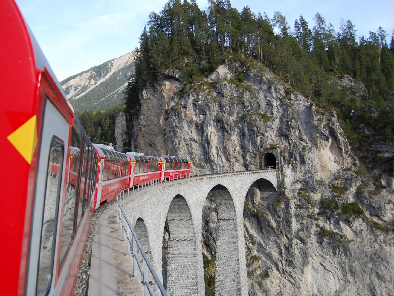 Nejkrásnější kouty Švýcarska panoramatickými drahami #3