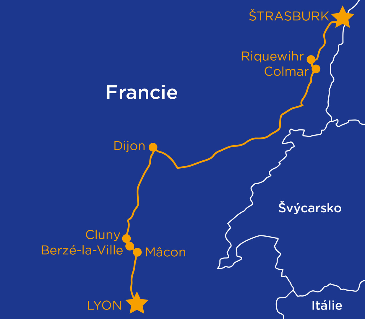 Za vínem a krásami Burgundska a kraje Beaujolais (autobusem) #2