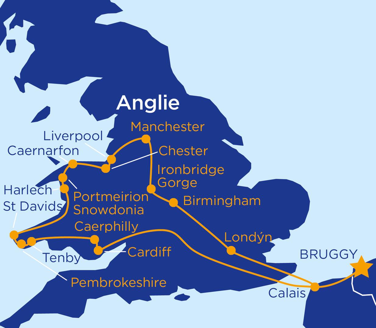 To nejlepší z Walesu a západní Anglie (autobusem) #2