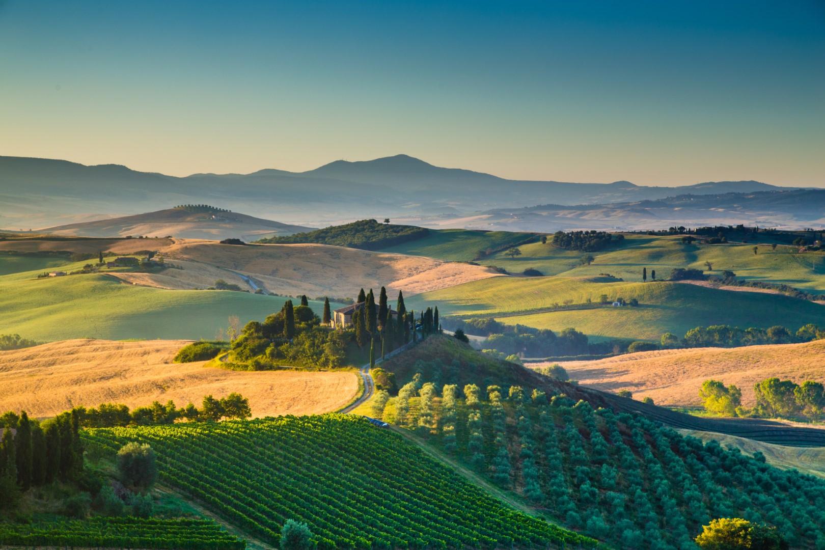 Za toskánskými poklady a vinicemi (autobusem) #3