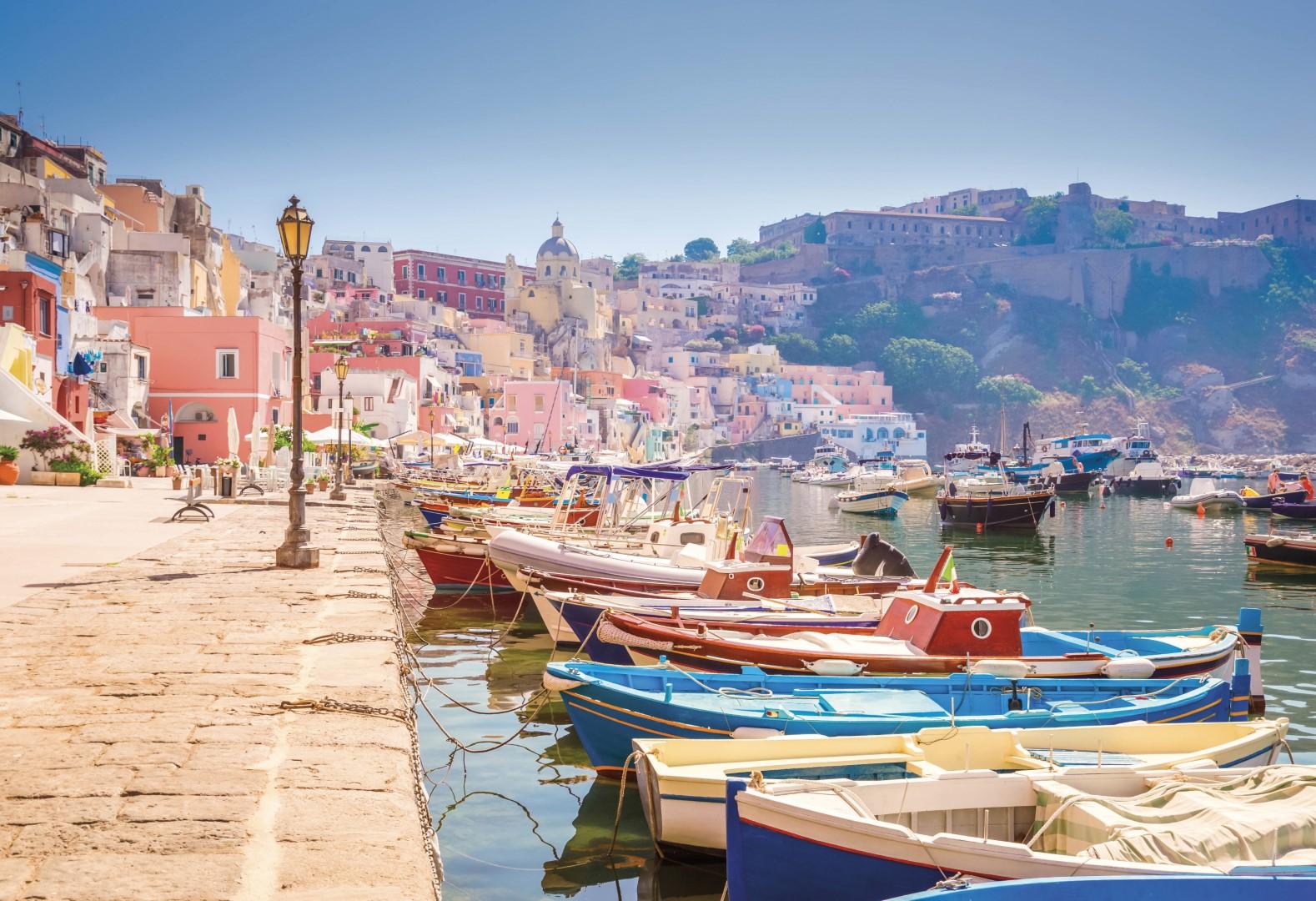 Řím - Neapol - Capri - Ischia (autobusem)