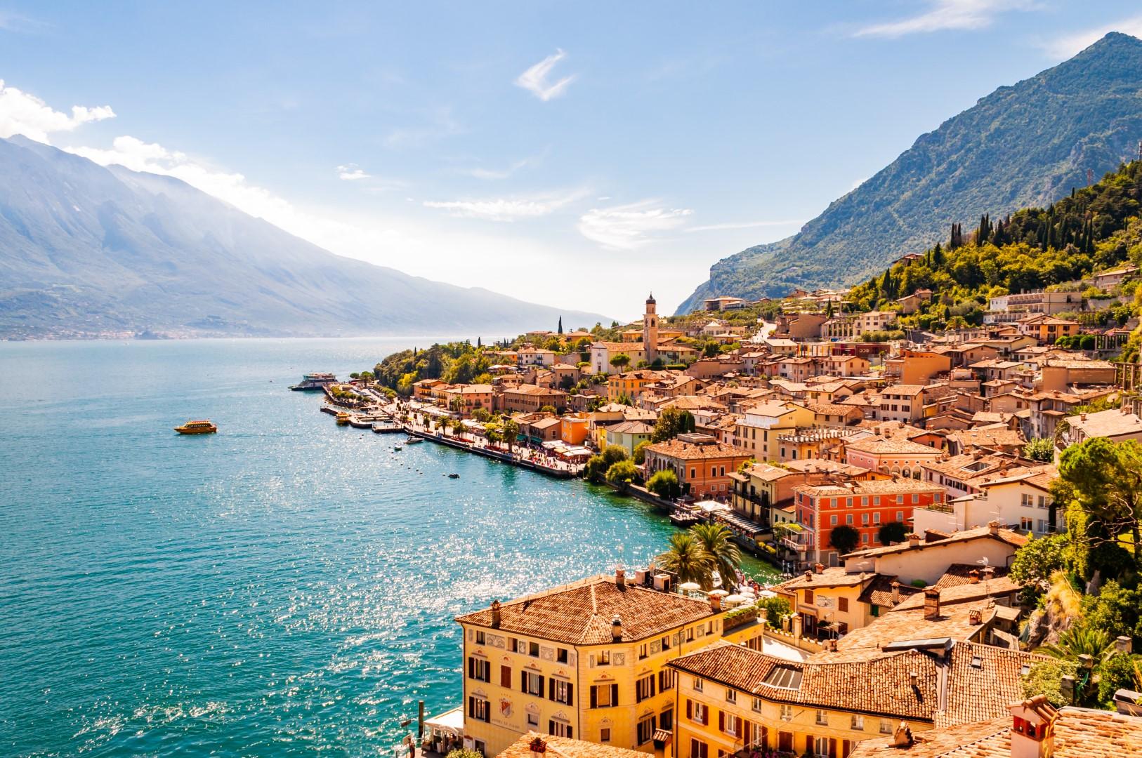 Jezera a podhůří italských Alp
