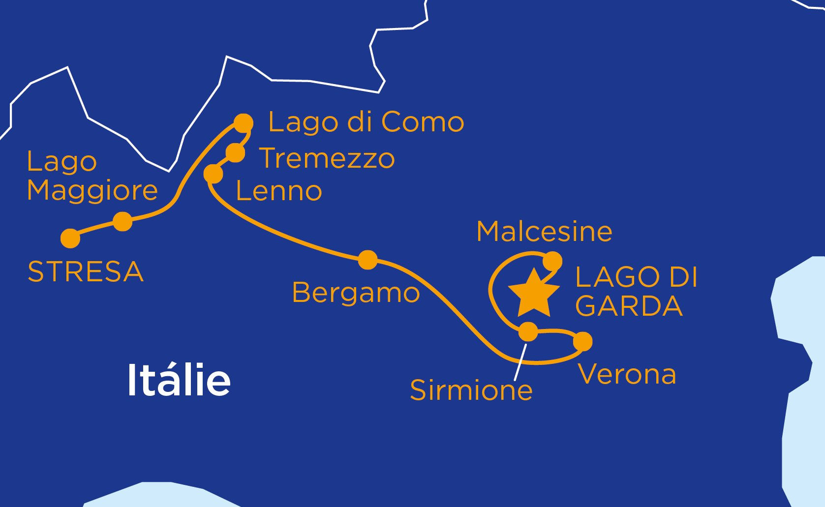 Jezera a podhůří italských Alp #2