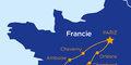 Paříž a zámky na Loiře (letecky) #2