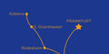 Romantické údolí Rýna - letadlem #2