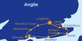 Romantickým pobřežím za nejkrásnějšími hrady jižní Anglie #2