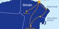 Pouští a oázami za krásami Ománu #2