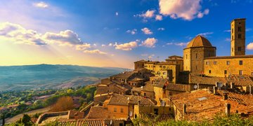 Za toskánskými poklady a vinicemi - letecky