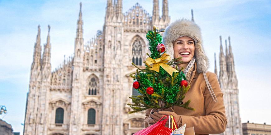 Jarmark bożonarodzeniowy w Mediolanie