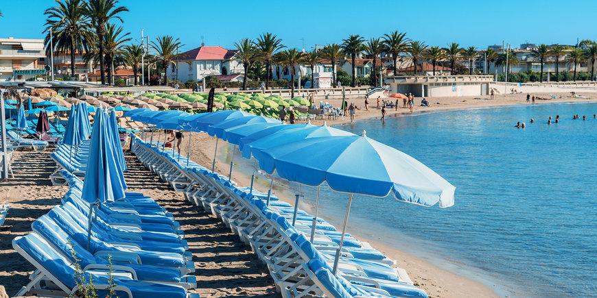 Weekend na plaży – Juan-les-Pins