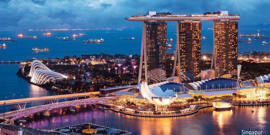Singapur i wyspy Indonezji
