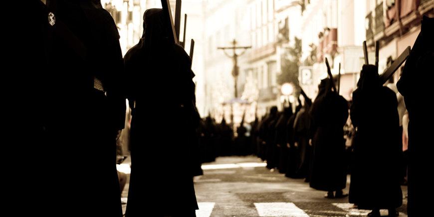 Czarna Procesja i Wielkanoc w Sorrento