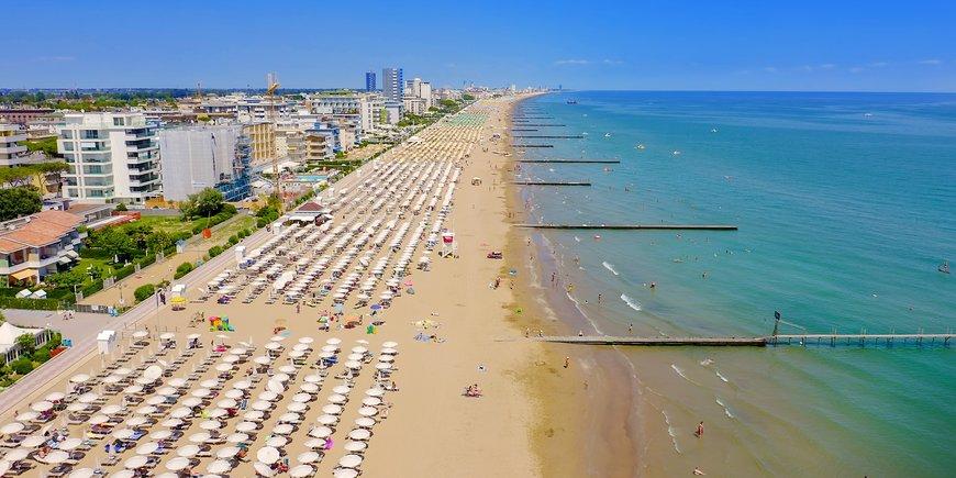 Jadę na plażę! Lido di Jesolo
