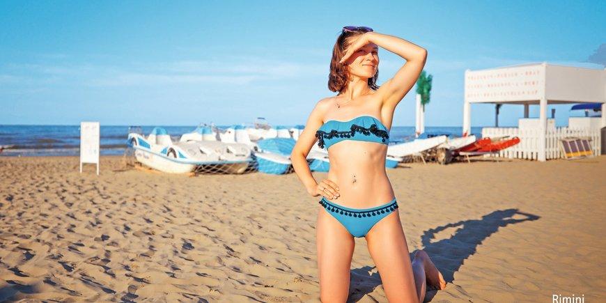 Jadę na plażę! Rimini