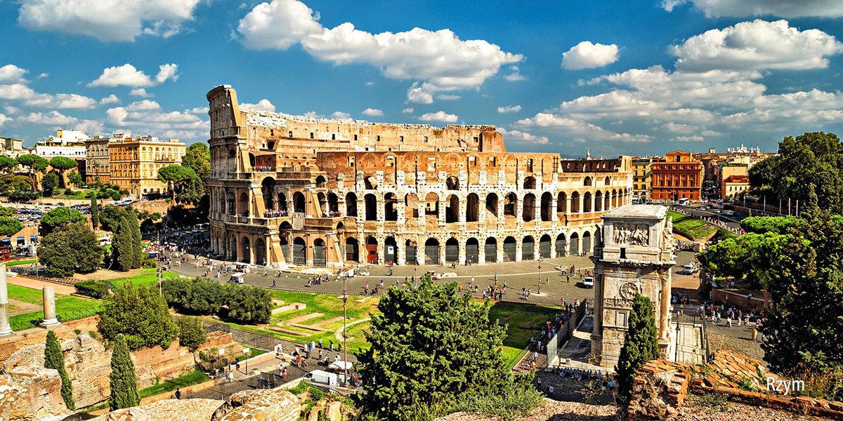 W Rzymie i nad morzem