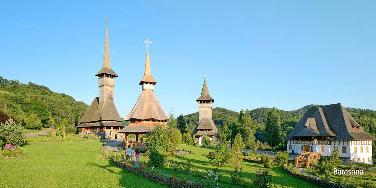 Drewniane cerkwie, malowane monastyry
