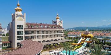 Hotel Side Crown Charm