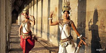 Taniec z Khmerami