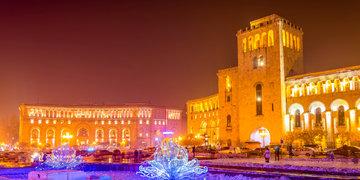 Sylwester w Armenii