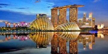 Plaże Tajlandii i wieżowce Singapuru