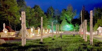 Lapońska wioska Kalevala
