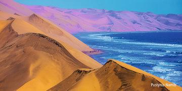 Namibia – pustynia i ocean