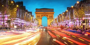 Sylwestrowy Paryż