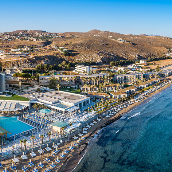 Arina Beach Hotel Bungalows Kreta Grecja Wczasy Opinie Itaka