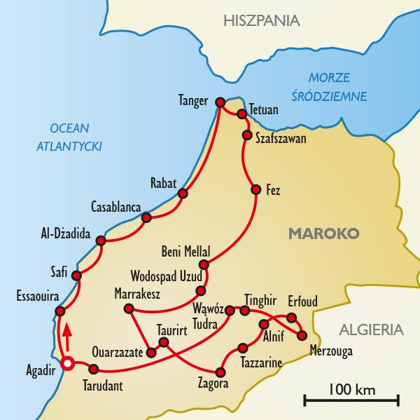 Kolorowy Grand Tour Maroko Wycieczki Opinie Itaka