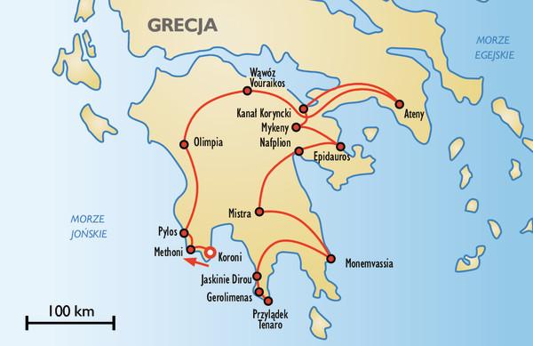 Nieodkryty Peloponez Grecja Wycieczki Opinie Itaka