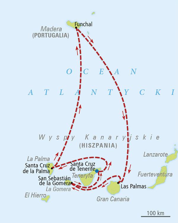 Rejs Krolowe Atlantyku Teneryfa Wyspy Kanaryjskie Rejsy