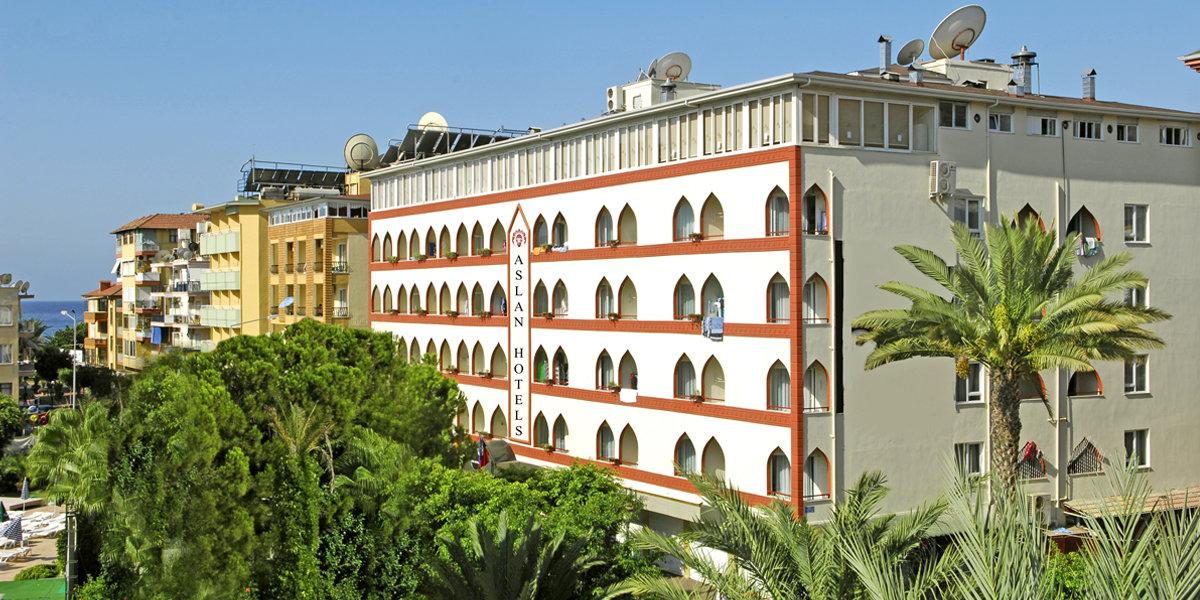 Viešbutis ASLAN CITY HOTEL (buvęs pav. KLEOPATRA BESTE)