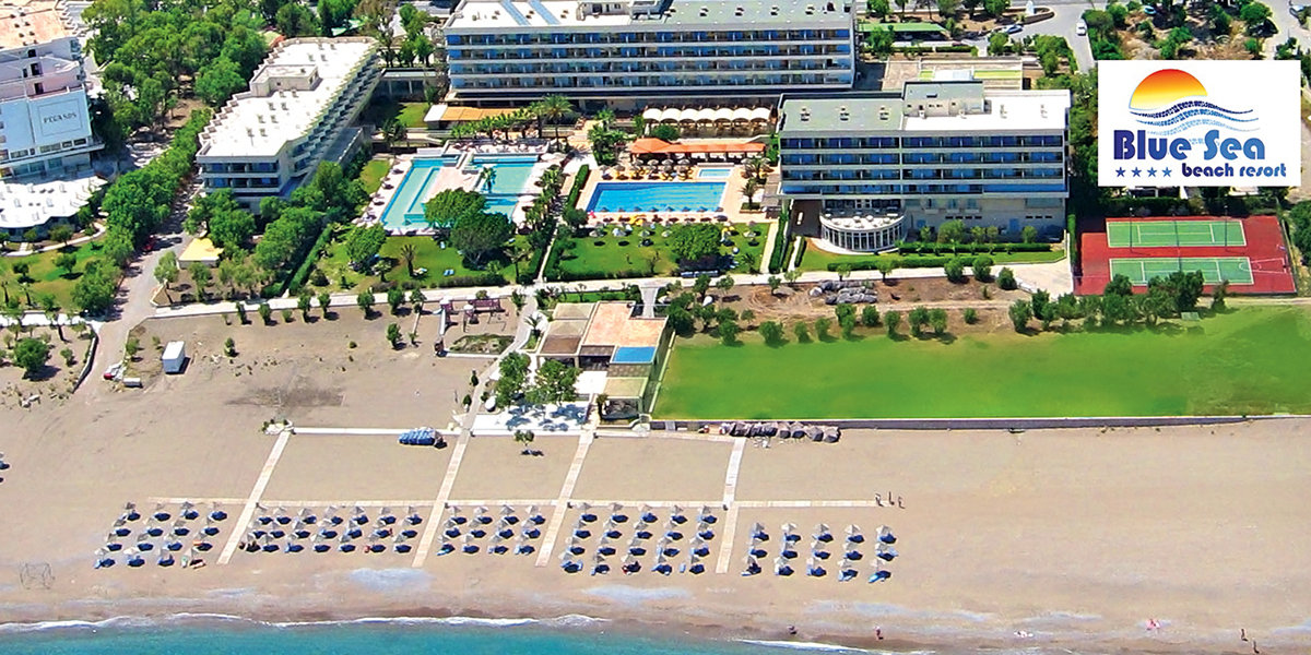 Отель BLUE SEA BEACH RESORT