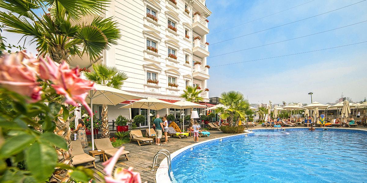 Viešbutis FLOWER & SPA