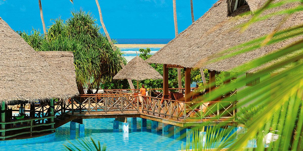 Отель NEPTUNE PWANI BEACH RESORT & SPA